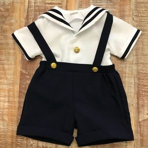 Other - 2 piece sailor outfit